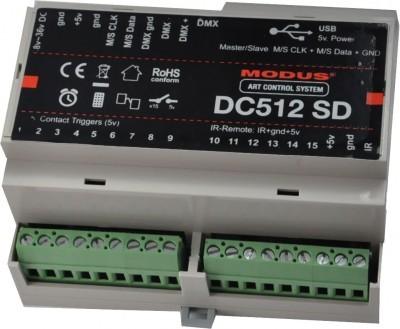 DC 512 DIN MODUS