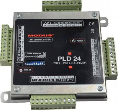 PLD 24 driver DMX LED